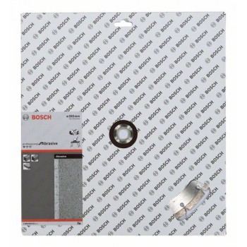 BOSCH Diamantový rezací kotúč Standard for Abrasive 350 x 20/25,40 x 2,8 x 10 mm