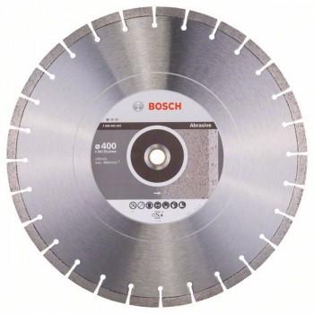 BOSCH Diamantový rezací kotúč Standard for Abrasive 400 x 20/25,40 x 3,2 x 10 mm