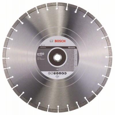 BOSCH Diamantový rezací kotúč Standard for Abrasive 450 x 25,40 x 3,6 x 10 mm