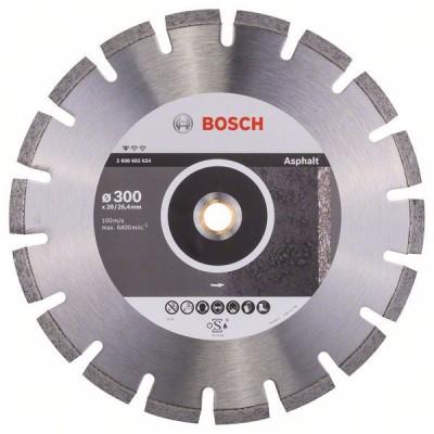 BOSCH Diamantový rezací kotúč Standard for Asphalt 300 x 20/25,40 x 2,8 x 10 mm
