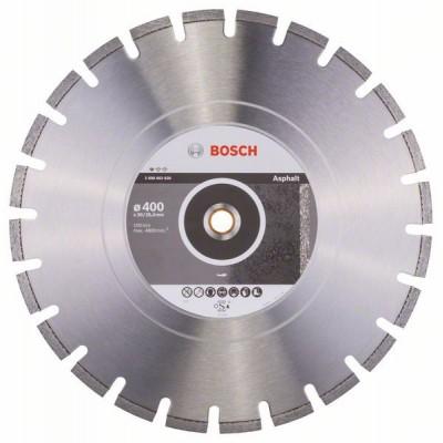 BOSCH Diamantový rezací kotúč Standard for Asphalt 400 x 20/25,40 x 3,6 x 10 mm
