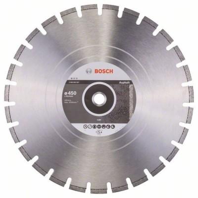 BOSCH Diamantový rezací kotúč Standard for Asphalt 450 x 25,40 x 3,2 x 10 mm