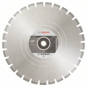 BOSCH Diamantový rezací kotúč Standard for Asphalt 500 x 25,40 x 3,6 x 10 mm