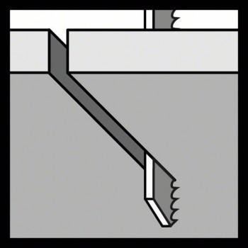 BOSCH Pílový list do priamočiarych píl T 121 AF Speed for Metal
