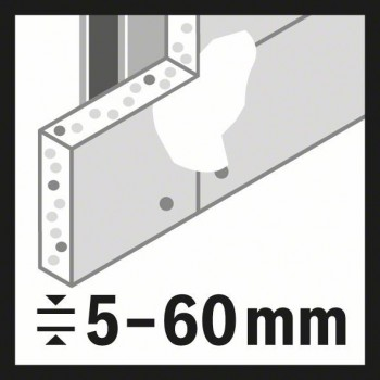 BOSCH Dierová píla Speed for Multi Construction 109 mm, 4 9/32