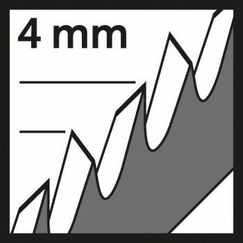 BOSCH Pílový list do priamočiarych píl T 1044 DP Precision for Wood