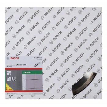 BOSCH Diamantový rezací kotúč Standard for Ceramic 230 x 22,23 x 1,6 x 7 mm