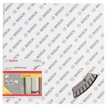 BOSCH Diamantový rezací kotúč Standard for Universal Turbo 230 x 22,23 x 2,5 x 10 mm