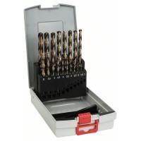 BOSCH 19-dielna súprava vrtákov do kovu ProBox HSS-Co, DIN 338 (kobaltová zliatina) 1-10 mm