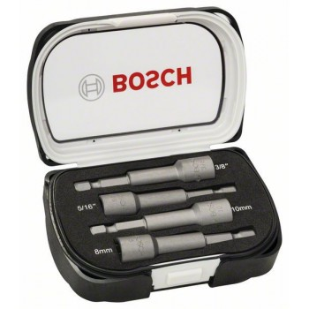BOSCH 4-dielna súprava nadstavcov s násuvnými kľúčmi 65 mm</br> 8, 10 mm