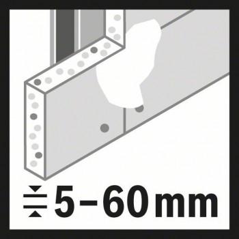 BOSCH 15-dielna súprava dierových píl Multi Construction Universal 20</br> 22</br> 25</br> 32</br> 35</br> 40</br> 44</br> 51</br> 60</br> 64</br> 76 mm