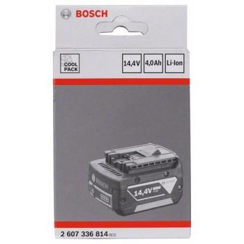 BOSCH 14,4 V-zásuvný akumulátor Heavy Duty (HD), 4,0 Ah, Li-Ion, GBA M-C
