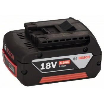 BOSCH 18 V-zásuvný akumulátor Heavy Duty (HD), 4,0 Ah, Li-Ion, GBA M-C