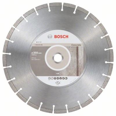 BOSCH Diamantový rezací kotúč Standard for Concrete 350 x 25,40 x 2,8 x 10 mm