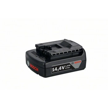 BOSCH 14,4 V-zásuvný akumulátor Light Duty (LD), 1,5 Ah, Li-Ion, GBA M-A