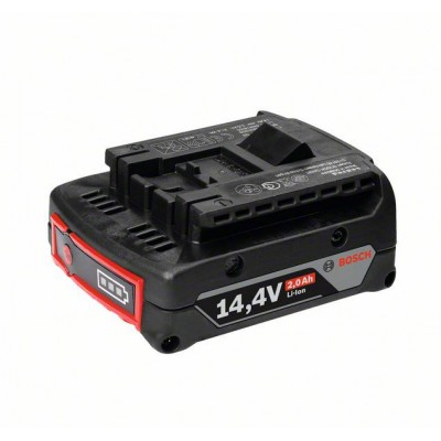 BOSCH 14,4 V-zásuvný akumulátor Light Duty (LD), 2,0 Ah, Li-Ion, GBA M-B
