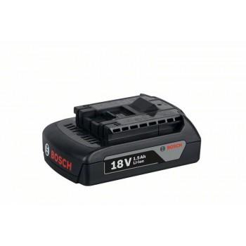 BOSCH 18 V-zásuvný akumulátor Light Duty (LD), 1,5 Ah, Li-Ion, GBA M-A