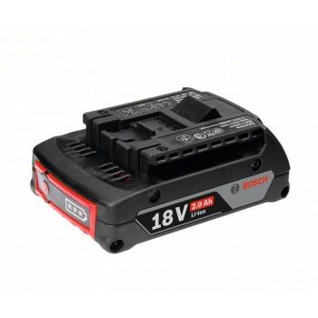BOSCH 18 V-zásuvný akumulátor Light Duty (LD), 2,0 Ah, Li-Ion, GBA M-B