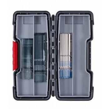 BOSCH 30-dielna súprava pílových listov do priamočiarej píly, Wood and Metal T 119 BO (10x)</br> T 111 C (10x)</br> T 118 A (10x)