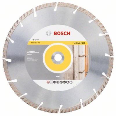 BOSCH Diamantový rezací kotúč Standard for Universal 300 x 20 300x20x3.3x10mm