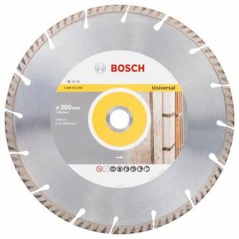 BOSCH Diamantový rezací kotúč Standard for Universal 300 x 25,4 300x25.4x3.3x10mm