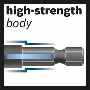 BOSCH 10,0 mm skrutkovitý vrták HSS so šesťhrannou stopkou (5 ks) 10 x 87 x 133 mm