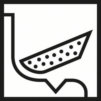 BOSCH 3-dielna súprava brúsnych špongií 69 × 97 × 26 mm, M, F, SF
