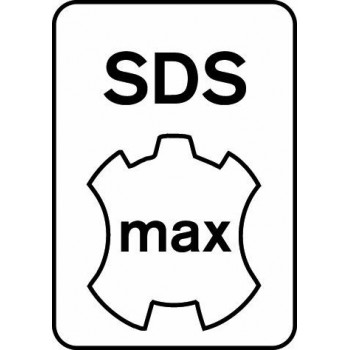 BOSCH Vrták do vŕtacieho kladiva SDS-max-8X 12 x 600 x 740 mm