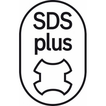 BOSCH Vrták do kladív SDS-plus-1 14 x 400 x 460 mm