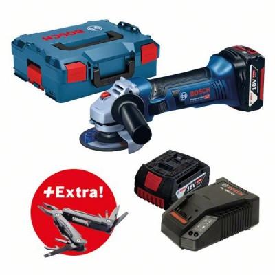Bosch  Akumulátorová súprava 12V GSA + GSR + GOP + GDR + GLI + 3× akumulátor 2,0Ah vkufri L-BOXX