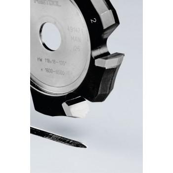 FESTOOL Drážkovacia fréza tvaru V HW 118x18-135°/Alu
