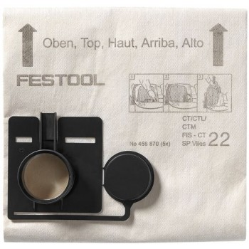FESTOOL Filtračné vrecko FIS-CT 44 SP VLIES/5
