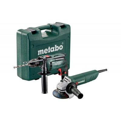 METABO SBE 650 + W 750-125 Set
