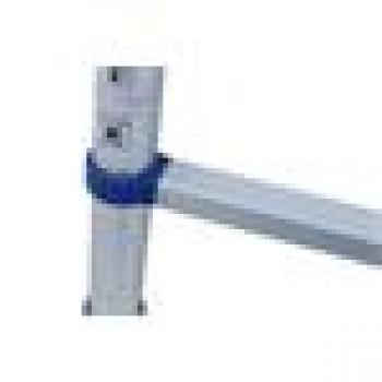 G21 Teleskopický rebrík G21 GA-TZ9-2,6M hliníkový, modrý