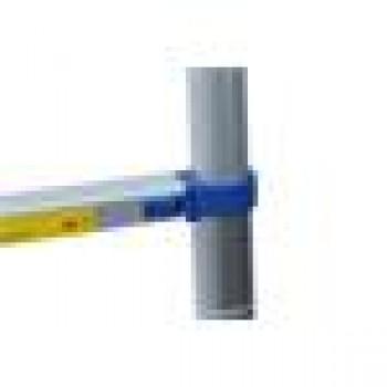 G21 Teleskopický rebrík G21 GA-TZ7-2M hliníkový, modrý