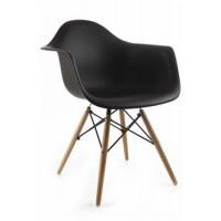 Dizajnová stolička G21 Lumber Black