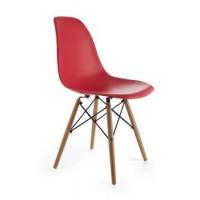 Dizajnová stolička G21 Timber Red